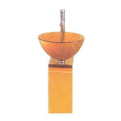 Shree Marketing Orange Bathroom Sink
