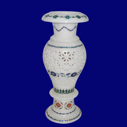 Decorative Stone Inlay Flower Vase