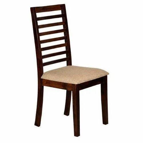 Brookwood Design' s Wooden Teak Wood Hotel Chair, No Of Legs: 4, for Restaurant,Hotel