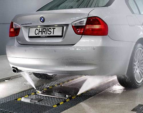 Car Under Chassis Cleaning Under Chassis Washer Machine