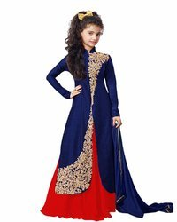 Party Wear Baby Girl S Lehenga Choli 8 9 Years Rs 599 Unit Fashion Vogue Id 17342813591