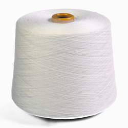 White Dyed Bamboo Yarn, for Textile Industry