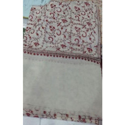 Fine Wool Hand Made Embroidered Shawls