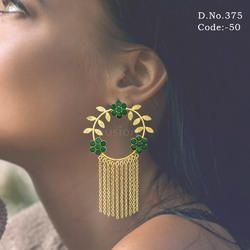 Ethnic Tassel Earring