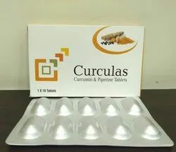 Curcumin 500 mg and   Piperine 5 mg Tablet