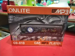 Plastic Black CD-810 Onlite Car MP3 Player