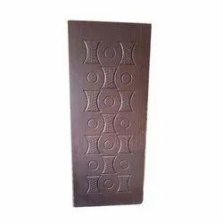 Exterior Hard Wood Designer Wooden Door for Home, Thickness: 30 To 40 mm