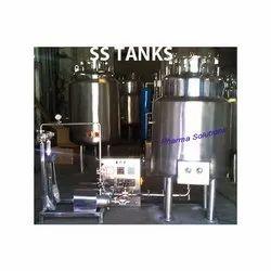 SS Tanks, Capacity: 1000-5000 L