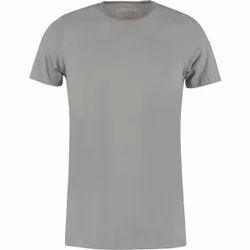 Men's Cotton Half Sleeve Plain T Shirt, Size: S-XXL