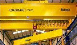 LOADMATE Yellow Industrial Crane, Electric