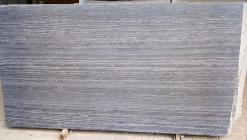 Polished And Leather Gray Quartzite Slab, Thickness: 18 mm, For Flooring And Walls