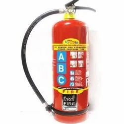 Red Mild Steel Dry Powder Fire Extinguisher, Capacity: 1-9 Kg