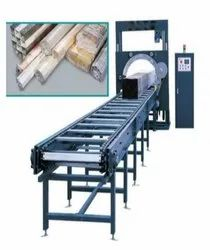 Suction Pipe Stretch Wrapping Machine