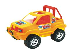 Plastic Rally Sport Jeep Without Battery Toys for Personal