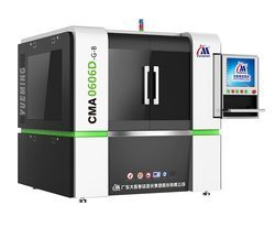 Precision Fiber Laser Cutting Machine CMA0606D-G-B