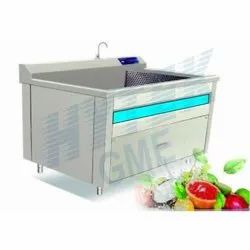 1.5 KW Leafy Vegetable and Fruits Washing Machine