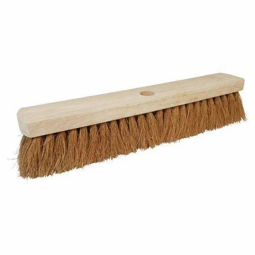 Medium White Platform Brush for Cleaning