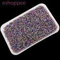 Eshoppee 1kg Purple Color Seed Beads 8/0