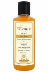 KHADI ORGANIQUE Herbal Orange & Lemongrass Face Wash SLS & Paraben Free, Packaging Size: 210 Ml, Age Group: Adults