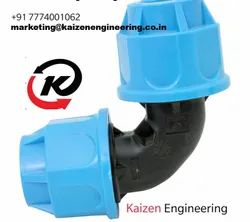 Kaizen Both Side Compression Elbow BSE, Packaging Type: Box