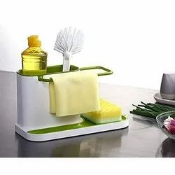 Clomana Plastic 3 In 1 Kitchen Caddy, For Home