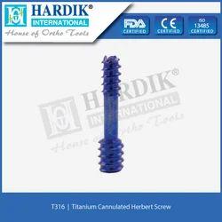 Titanium Cannulated Herbert Screw
