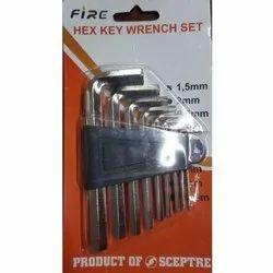 Sceptre FIRE Hex Key Wrench Set