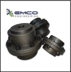 EMCO Kfgc-1 Gear Coupling, Size: 115 X 170 X 14 Bore, For Power Plant, Mills
