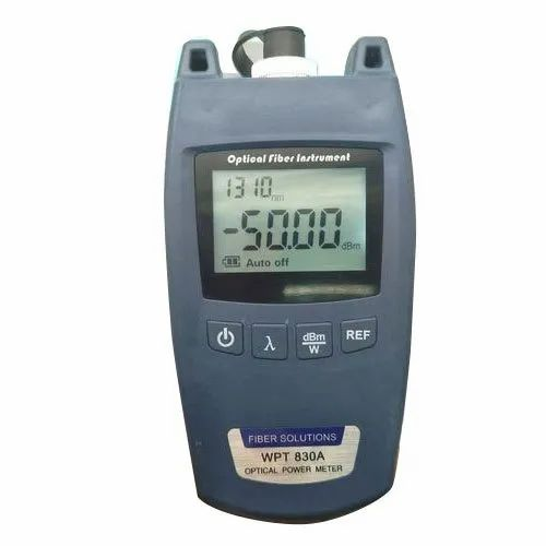 WPT 830A Mini-Designed FIBER Optical Power Meter at Rs 2200/piece | Optical  Power Meter | ID: 20474416088