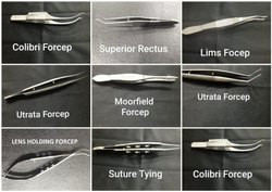 Superior Rectus Forcep (Ophthalmic Instrument)