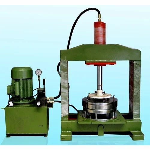 Hydraulic Press Plate Making Machine at