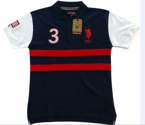 2bcffcc9 Cotton/Linen US Polo Mens T-Shirt, Rs 200 /piece, Sai Vinayak ...