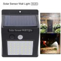 olar Powered Led Wall Light XF-6009 30 LED Motion Sensor Street Lights - 30 LED Solar Light