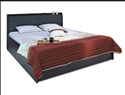 Godrej Grey Florid Bed