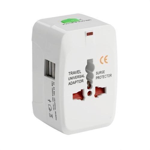 Universal Travel Adaptor with 2 USB