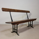 Industrial  Furniture Wooden Bench