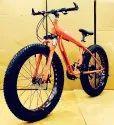 Mercedes Benz Orange Shark Fat Tyre Cycle