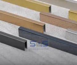 Stainless Steel Flooring And Groove U Profiles