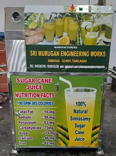 Sugarcane Juice Machine, Karumbu Juice
