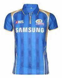 New Mumbai Indians 2019 IPL Jersey with all Logos