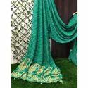 Bandhani Party Wear Chiffon Saree