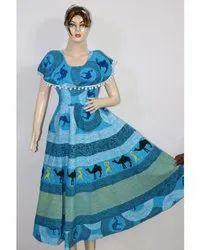 Ladies Designer Pumfum Frock