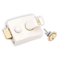 Brass Golden Wooden Lock