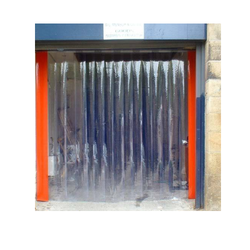 Transparent PVC Strip Curtains, Thickness: 2 mm