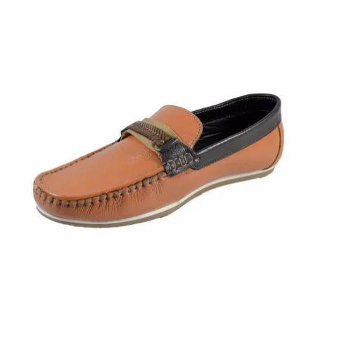 75dde5c7b2d Black And Brown Leather Mens Designer Loafer Shoes ...