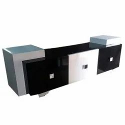 Brown Modern Modular Wooden TV Table, for Hotel, Size: 2-3 Feet