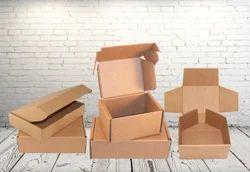 Brown Duplex Corrugated Box, Rectangular
