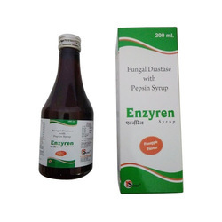 Fungal Diastase With Pepsin Syrup, Packaging Type: Bottle