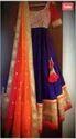 Beige Color Net Jaquard Salwar Kameez