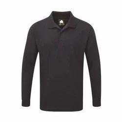Collar Neck Full Sleeves Weaver Premium Polo T Shirt